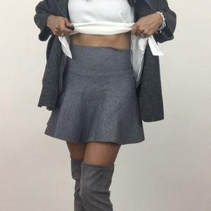Zara NWT Gray Skirt